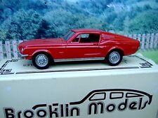 1/43 Brooklin models  Shelby mustang 1968