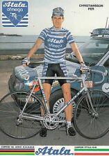 PER CHRISTIANSSON Cyclisme Ciclismo Cycling ATALA 87