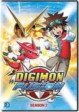 Digimon Fusion: Season 2 (2016, DVD NEW)5 DISC SET
