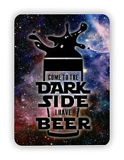 Come To The Dark Side I Have Beer Star Wars Inspired METAL SIGN PLAQUE Poster