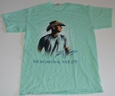 Kenny Chesney The Big Revival 2015 Concert Tour T-Shirt Graphic Logo Size - M