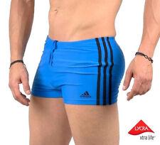 Adidas INFINITEX ENERGY 3S Herren Boxer Badehose Schwimmhose Badeshorts Men blau
