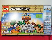 LEGO® Minecraft The Crafting Box 2.0 Building Kit 21135 New Sealed Retired