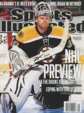 Sports Illustrated Magazine 10/10/2011 NHL Preview Boston Bruins TIM THOMAS