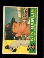 1960 TOPPS #542 KEN HAMLIN VG (RC) ATHLETICS  *SBA0194