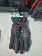 Mechanix Wear Mens M Grey Winter Fleece Insulated Work Gloves Large Warm
