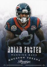 Arian Foster 2013 panini prestige football Cox, #80