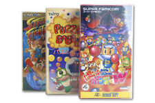 Premium Super Famicom Game Box Protectors 0.5mm Thick 5 Pack SUPER STRONG