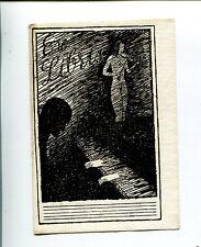 EXLIBRIS,110, Künstler unbekannt / Artist unknown - Akt und Klavier