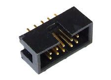 10-Pin Double Dual Row Straight Shrouded Box Header Connector Buchse Stiftleiste
