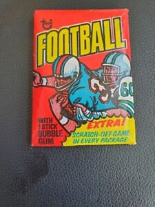 1975 TOPPS FOOTBALL   ***WAX PACK***  ?PSA 10 FOUTS/ SWANN  ROOKIES