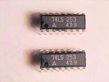 "DN74LS253  ""Original"" Panasonic (Matsushita) TTL 16P DIP IC  2 pcs"
