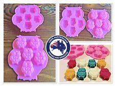 OWL🦉SILICONE TRAY MOULD~d.i.y mini tarts/soaps/chocs/fondant/clay/craft