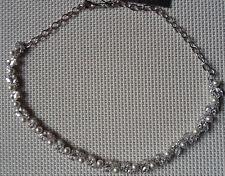 $225 NADRI Elegant Pearl Marquise & Round cz Choker Style Necklace