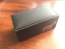 MONTBLANC CONTEMPORARY BLACK COLLECTION CUFF LINKS  - NEW!!