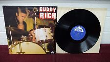 BUDDY RICH Self Titled LP French Press America Records AM 6149 Jazz Drum battle