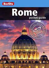 Berlitz: Rome Pocket Guide by Berlitz Publishing Company (Paperback, 2008)