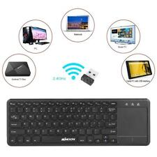 2.4GHz wireless QWERTY keyboard and TouchPad combo w/USB interface receiver H2W9