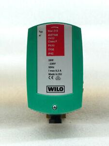 Wilo Star Z 15  Zirkulationspumpe 4057548  85 mm 230 Volt NEU P597/23