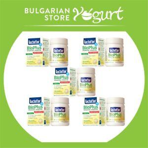 Lactoflor BioPlus 20 chewable tablets with Lactobacilus Bulgaricus pack of 5 pcs