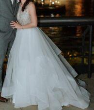 Hayley Paige Dori UK 6 8 US 2 4 6 Ivory Alabaster Ball Gown