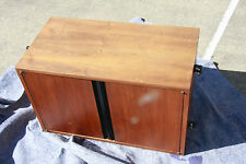 George Nelson Omni vintage  Cabinet  CSS eames nicely figured Walnut