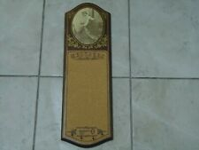 VINTAGE NORTH COUNTRY TRADING COMPANY MESSAGE BOARD-1980-CORK-WOOD-KITCHEN DECOR