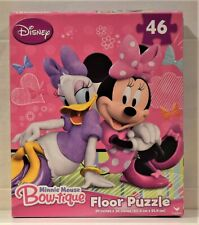 Minnie Mouse 46 Piece Floor Puzzle From Mr Toys Toyworld