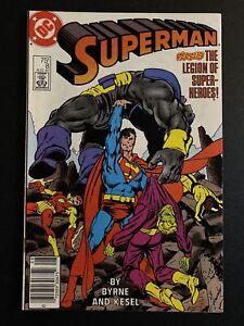 Superman #8 (DC, 1987) Homage to Fantastic Four 249
