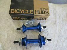 SUZUE HUBS NOS 36 HOLE BMX BLUE CRUISER FREESTYLE BICYCLE VINTAGE