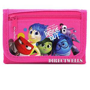 Disney Inside Out Pink Wallet