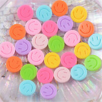 Approx 15mm CRAFT// BABIES 5 x PEACH SMILEY FACE BUTTONS ~ 24L