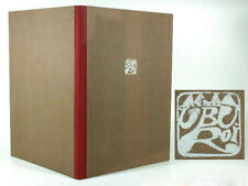 Alfred Jarry Ubu Roi bloque libro nº 35 ° original madera cortes Wolfgang fangosos