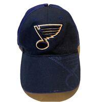 St. Louis Blues NHL Hockey Adjustable Hat Fan Favorite NHL Licensed Product