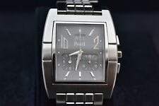 Piaget Upstream Chronograph 27150 stainless steel bracelet, with box, mint