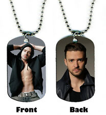 DOG TAG NECKLACE - Justin Timberlake 1 Singer Songwriter Jewelry