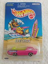 Hot Wheels Van De Kamp's Fish-O-Saurs Pink Redline Deora 1997 18584 Mint In Pack