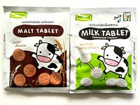 Roscela Milk & Malt Tablet Sweetened Cocoa Flavour Aromatic Yummy Healthy Candy