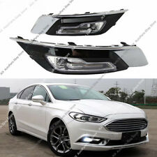 LED Driver Fog Light DRL Daytime Running lamp o For Ford Fusion Mondeo 2017-2018