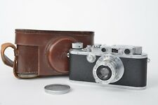 Leica III Chrome (1935)+ Lens Elmar 50 mm F3.5 (1935)
