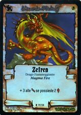 WIZARDS OF MICKEY Zefren 19/150 FOIL LE ORIGINI ITA NEAR MINT