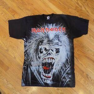 Iron Maiden T-Shirt All Over Print Eddie Size XL - brand new, vintage item