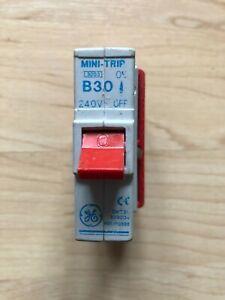 GE Mini Trip Series Type B 30A  BSEN60898