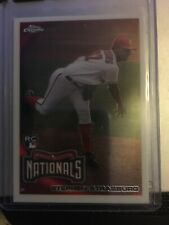 2010 Topps Chrome Stephen Strasburg Washington Nationals #212 Baseball Card