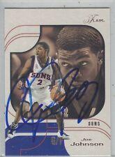 Joe Johnson Phoenix Suns 02-03 Fleer Flair Authentic Autograph COA