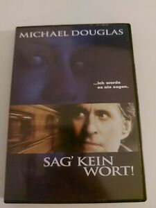 Sag' kein Wort  DVD  Michael Douglas  Psycho - Thriller *  Top Zustand