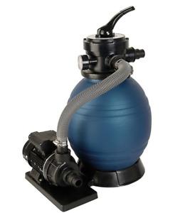 T.I.P. Sandfilteranlage Schwimmbad Filter Set SPF 180 - 7.900 l/h POOLFILTER