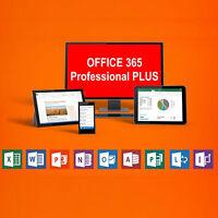 Microsoft Office 365 PROFESSIONAL CUENTA 5PC / MAC | FULL VERSION | 1TB Onedrive