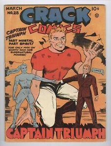 Crack Comics 28 Quality Comics 1943 Spanking Panel