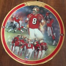 1997 BRADFORD EXCHANGE STEVE YOUNG 'THE GAMES GREATEST' PLATE